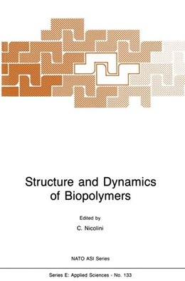 Abbildung von Nicolini | Structure and Dynamics of Biopolymers | 1987 | 133