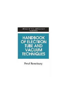 Abbildung von Rosebury | Handbook of Electron Tube and Vacuum Techniques | 1992