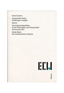 Abbildung von Cassirer / Recki | Gesammelte Werke. Hamburger Ausgabe / Das Erkenntnisproblem in der Philosophie und Wissenschaft der neueren Zeit | 2000 | Dritter Band