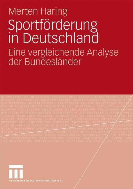 Abbildung von Haring | Sportförderung in Deutschland | 2010