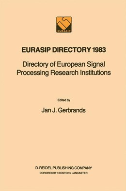 Abbildung von Gerbrands | EURASIP Directory 1983 | 1984 | Directory of European Signal P...