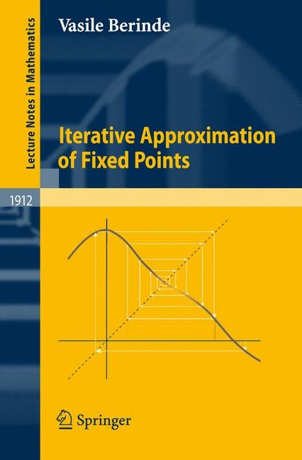 Abbildung von Berinde   Iterative Approximation of Fixed Points   2nd rev. and enlarged ed.   2007