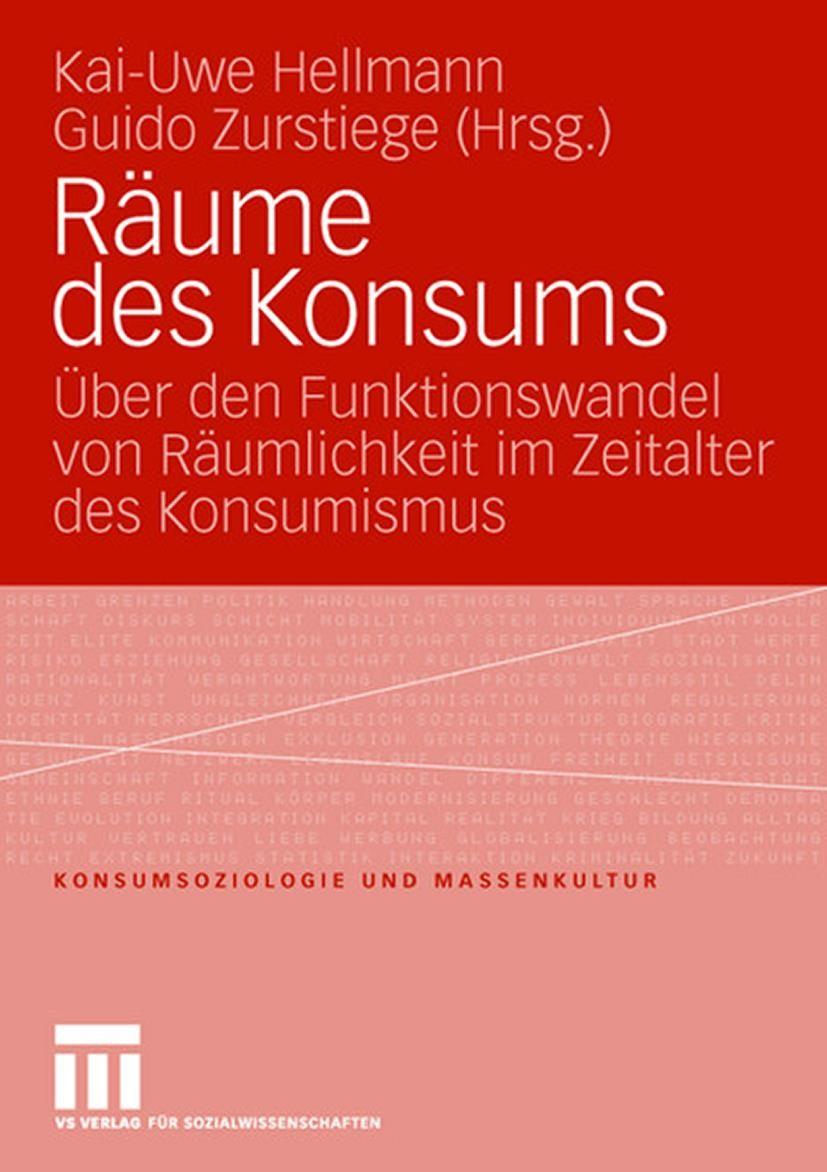 Abbildung von Hellmann / Zurstiege | Räume des Konsums | 2007