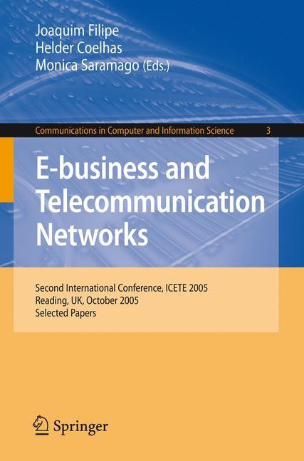Abbildung von Filipe / Coelhas / Saramago   E-business and Telecommunication Networks   2007