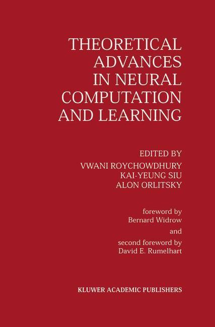 Abbildung von Roychowdhury / Kai-Yeung Siu / Orlitsky | Theoretical Advances in Neural Computation and Learning | 1994