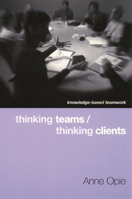 Abbildung von Opie | Thinking Teams / Thinking Clients | 2001