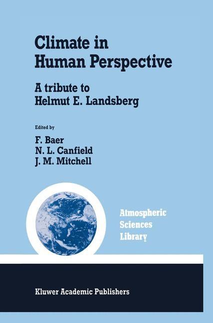 Abbildung von Baer / Canfield / Mitchell   Climate in Human Perspective   1991