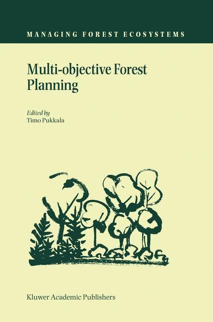 Abbildung von Pukkala | Multi-objective Forest Planning | 2002
