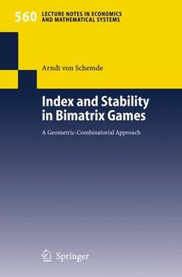 Abbildung von Schemde | Index and Stability in Bimatrix Games | 2005 | A Geometric-Combinatorial Appr... | 560