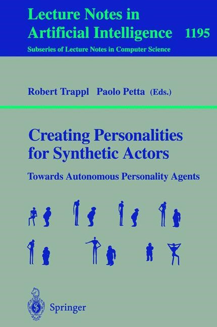Abbildung von Trappl / Petta | Creating Personalities for Synthetic Actors | 1997