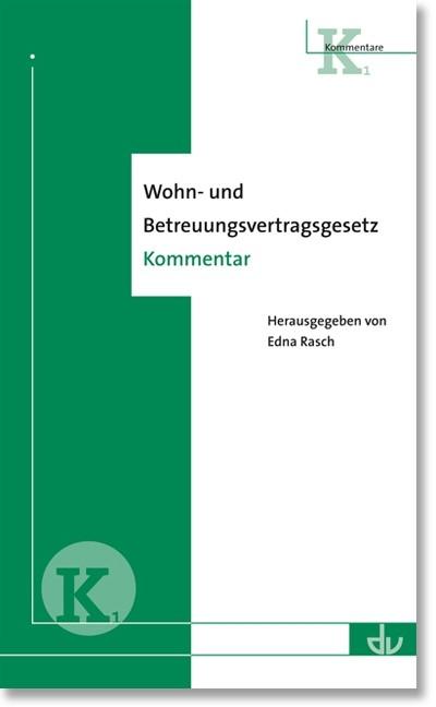 Abbildung von Rasch | Wohn- und Betreuungsvertragsgesetz | 2012
