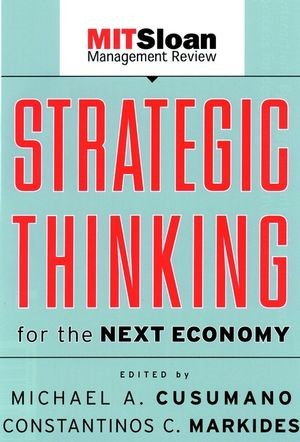 Abbildung von Cusumano / Markides | Strategic Thinking for the Next Economy | 2001