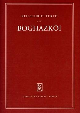 Abbildung von Conti | Texte aus dem Bezirk des Großen Tempels IV | 2009 | Keilschrifttexte aus Boghazköi | 52
