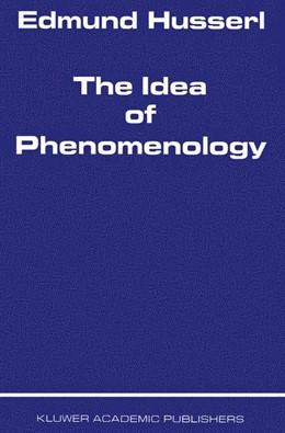 Abbildung von Husserl | The Idea of Phenomenology | 1980