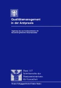 Abbildung von / Häussler | Qualitätsmanagement in der Arztpraxis | 1999