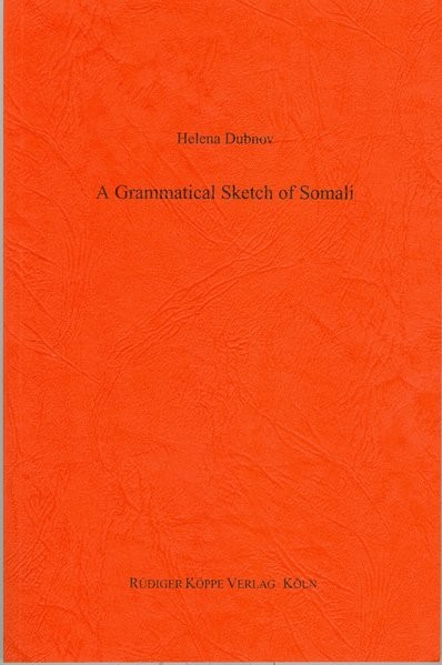 Abbildung von Dubnov | A Grammatical Sketch of Somali | 2003
