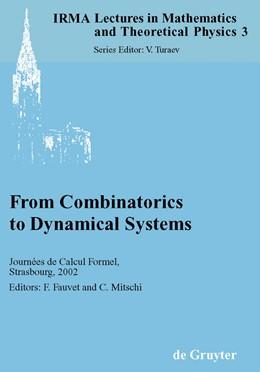Abbildung von Fauvet / Mitschi | From Combinatorics to Dynamical Systems | 2003 | Journées de Calcul Formel, Str... | 3