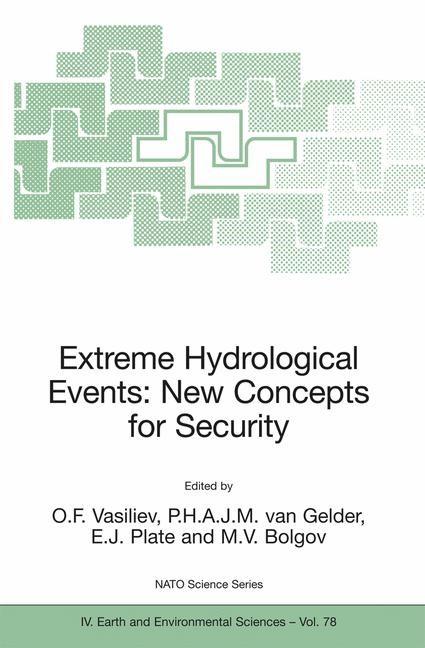 Abbildung von Vasiliev / Gelder / Plate / Bolgov   Extreme Hydrological Events: New Concepts for Security   2007