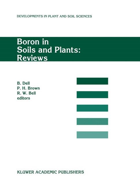 Abbildung von Dell / Brown / Bell | Boron in Soils and Plants: Reviews | 1997