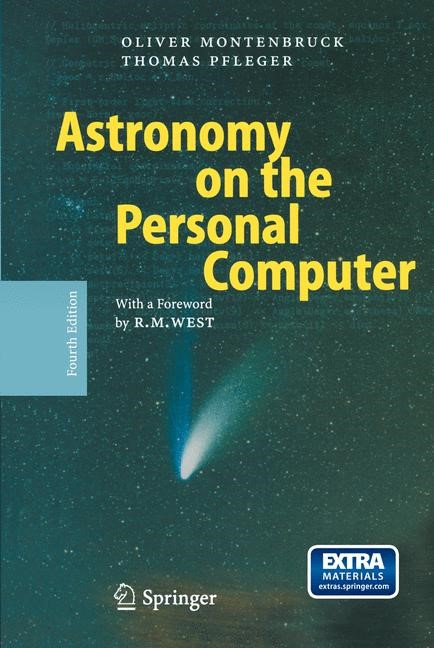 Abbildung von Montenbruck / Pfleger   Astronomy on the Personal Computer   4th ed. 2000. Corr. 4th printing   2009