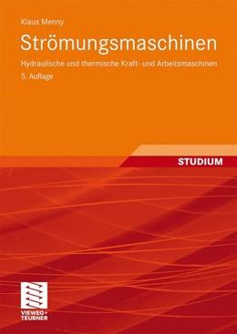 Abbildung von Menny   Strömungsmaschinen   2006   Hydraulische und thermische Kr...