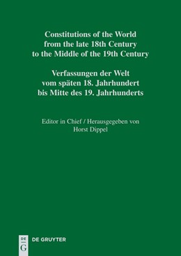 Abbildung von Marquardt | Constitutional Documents of Colombia and Panama 1793–1853 | 2009