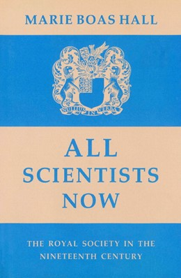 Abbildung von Hall | All Scientists Now | 2002 | The Royal Society in the Ninet...