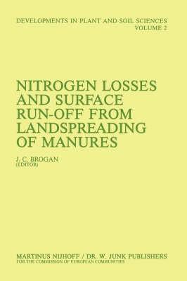 Abbildung von Brogan   Nitrogen Losses and Surface Run-Off from Landspreading of Manures   1981