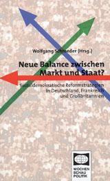 Abbildung von Schroeder   Neue Balance zwischen Markt und Staat?   2001