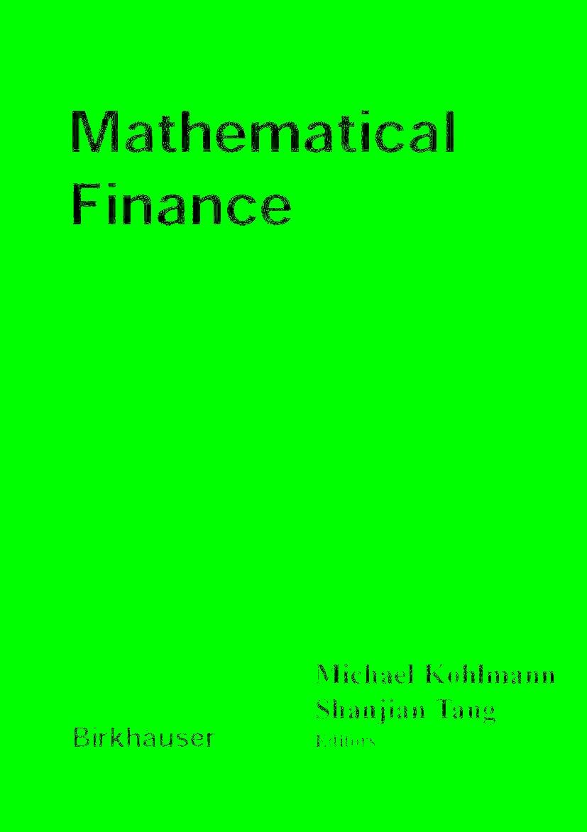 Abbildung von Kohlmann / Shanjian   Mathematical Finance   2001