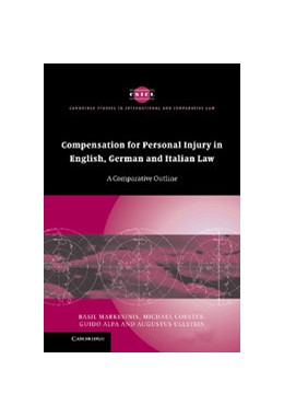 Abbildung von Markesinis / Coester / Alpa | Compensation for Personal Injury in English, German and Italian Law | 2005 | A Comparative Outline | 40