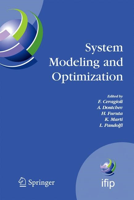 Abbildung von Ceragioli / Dontchev / Furuta / Marti / Pandolfi | System Modeling and Optimization | 2006