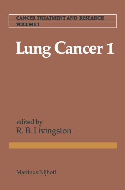 Lung Cancer 1 | Livingston, 1981 | Buch (Cover)