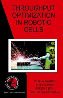 Abbildung von Dawande / Geismar / Sethi | Throughput Optimization in Robotic Cells | 2007 | 101