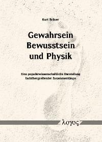 Gewahrsein, Bewusstsein und Physik | Bräuer, 2005 | Buch (Cover)