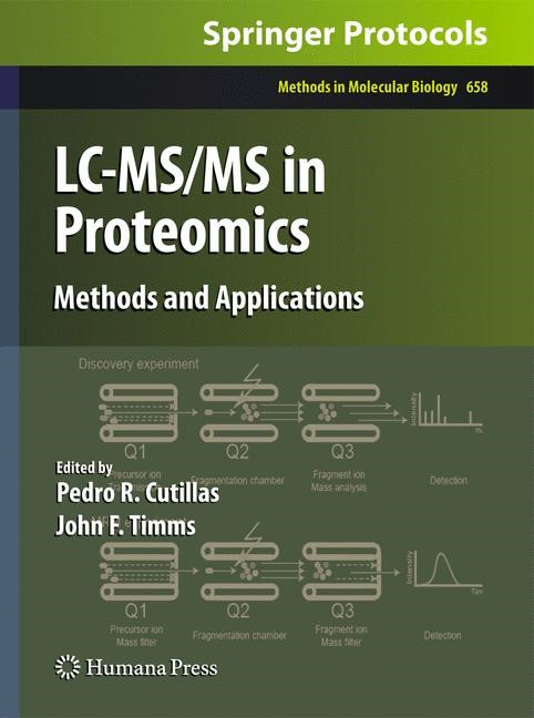Abbildung von Cutillas / Timms | LC-MS/MS in Proteomics | 2010
