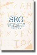 Abbildung von Pleket / Stroud / Strubbe | Supplementum Epigraphicum Graecum, Volume XLII (1992) | 1995