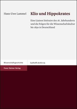 Abbildung von Lammel   Klio und Hippokrates   2005   Eine Liaison littéraire des 18...   55