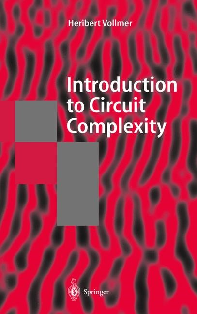 Abbildung von Vollmer | Introduction to Circuit Complexity | 1999
