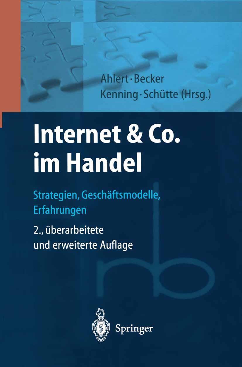 Abbildung von Ahlert / Becker / Kenning / Schütte   Internet & Co. im Handel   2., überarb. u. erw. Aufl.   2001