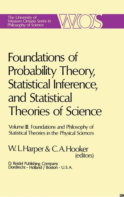 Abbildung von Harper / Hooker | Foundations of Probability Theory, Statistical Inference, and Statistical Theories of Science | 1975