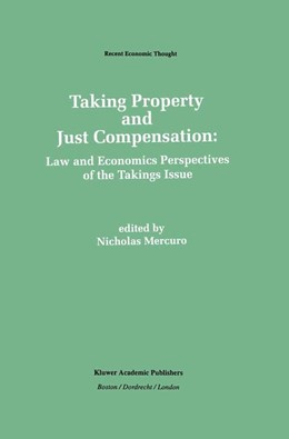 Abbildung von Mercuro | Taking Property and Just Compensation | 1992 | Law and Economics Perspectives... | 26