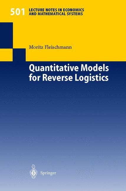 Abbildung von Fleischmann | Quantitative Models for Reverse Logistics | 2001