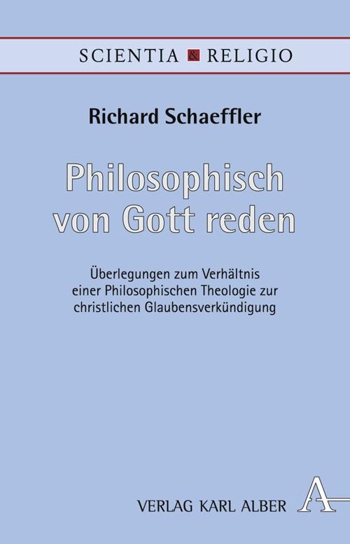 Abbildung von Schaeffler | Philosophisch von Gott reden | 2007