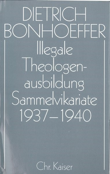 Dietrich Bonhoeffer Werke. Band 10: Barcelona, Berlin, Amerika 1928-1931 | Bonhoeffer | überarbeitet, 1992 | Buch (Cover)