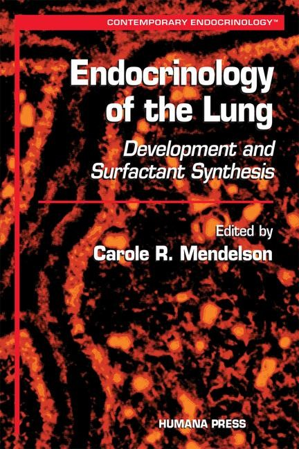 Abbildung von Mendelson | Endocrinology of the Lung | 2000