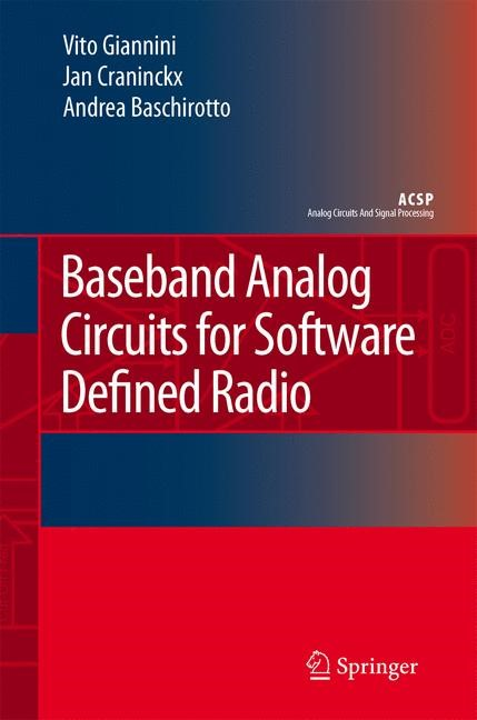 Abbildung von Giannini / Craninckx / Baschirotto | Baseband Analog Circuits for Software Defined Radio | 2008