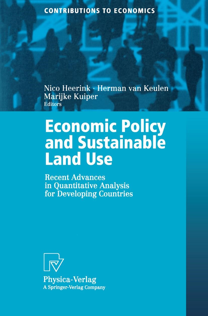 Abbildung von Heerink / Keulen / Kuiper | Economic Policy and Sustainable Land Use | 2000