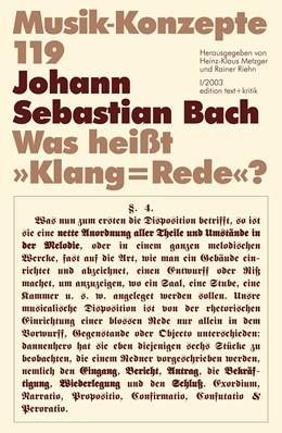 Abbildung von Johann Sebastian Bach | 2003