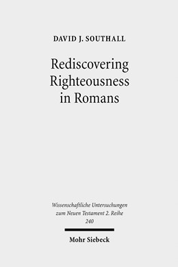 Abbildung von Southall | Rediscovering Righteousness in Romans | 2008 | Personified dikaiosyne within ... | 240